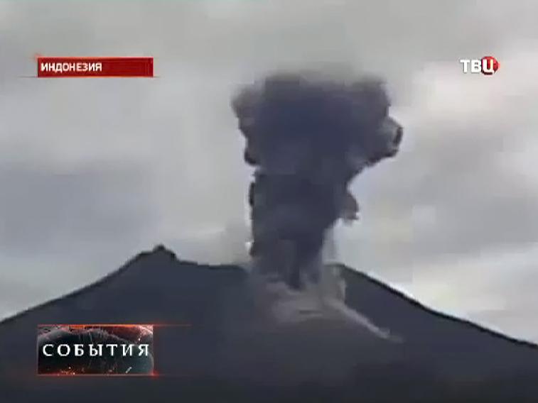 Извержение вулкана Келуд