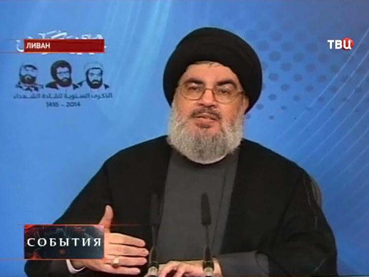 "Лидер шиитского движения ""Хезболла"" шейх Хасан Насралла"