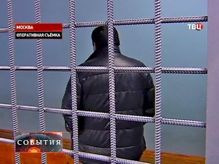 Задержанный в КПЗ