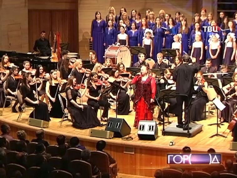 Концерт, посвященный 100-летию знаменитого композитора Марка Фрадкина в московском Доме музыки