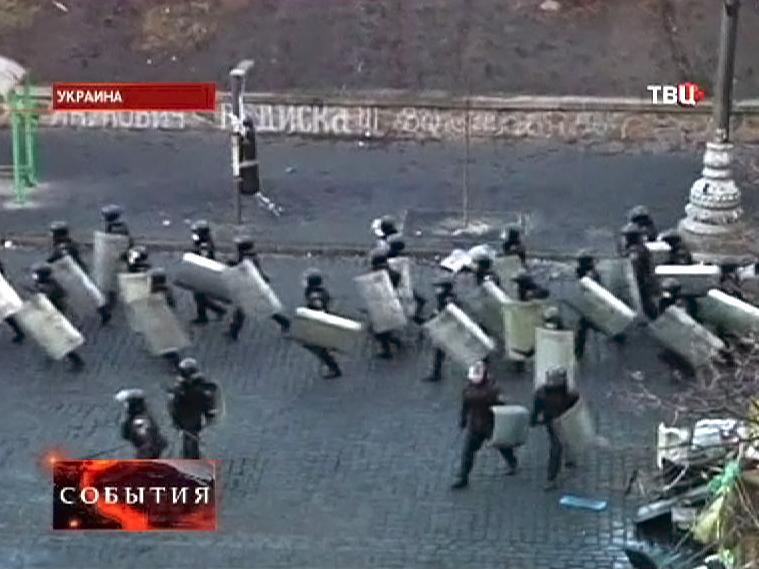 Милиция Киева укрепляет позиции