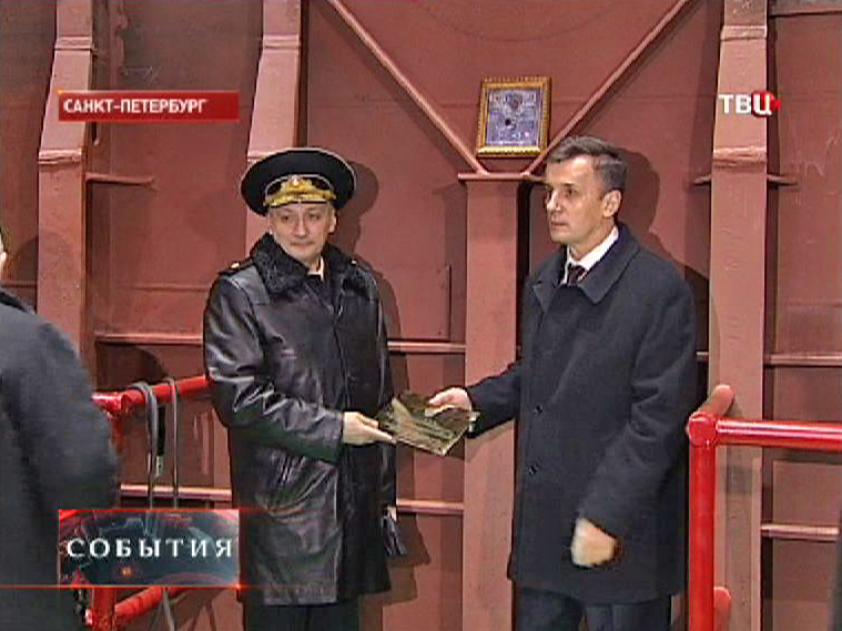 """Церемония закладки подводной лодки """"Краснодар"""""""