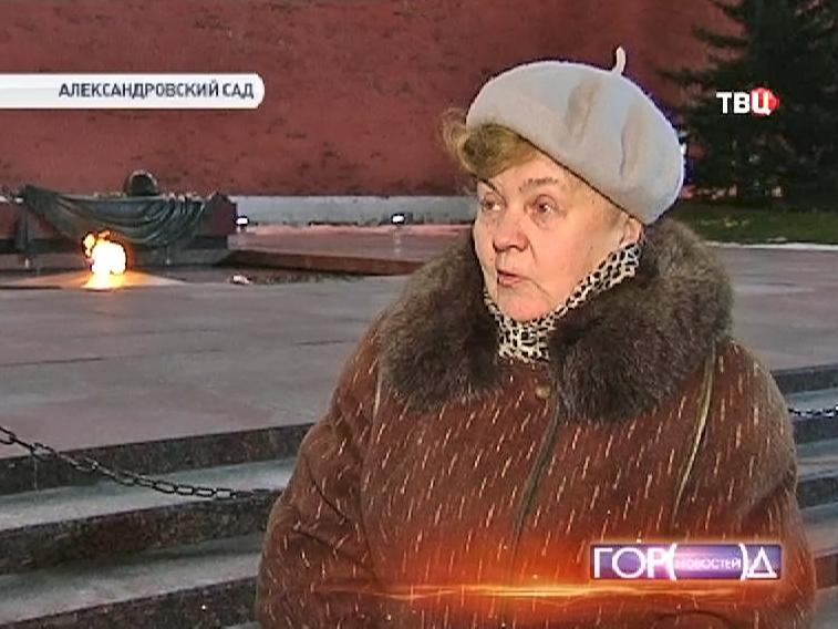 Ветеран Великой Отечественной войны Ида Медведева