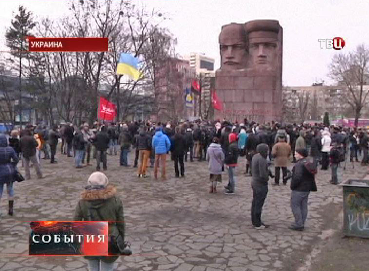 Монумент чекистам в Киеве