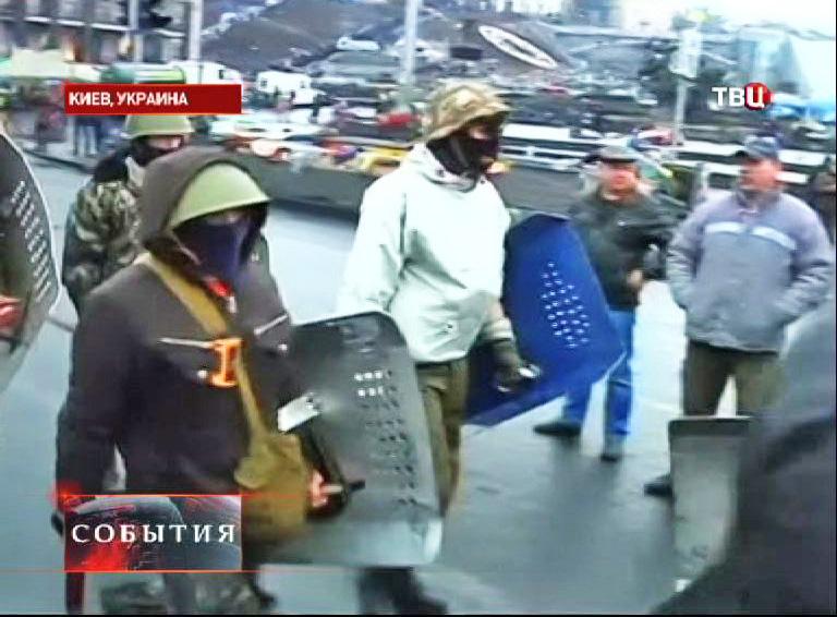 Боевики в Киеве