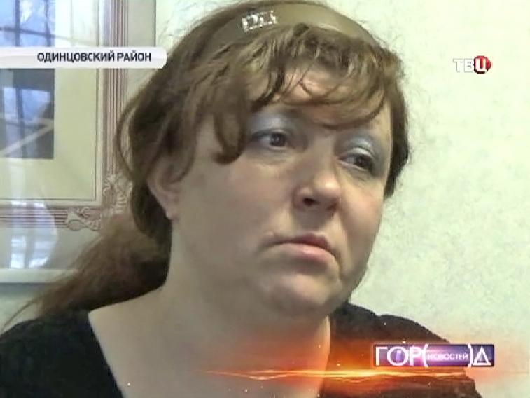Задержанная проститутка