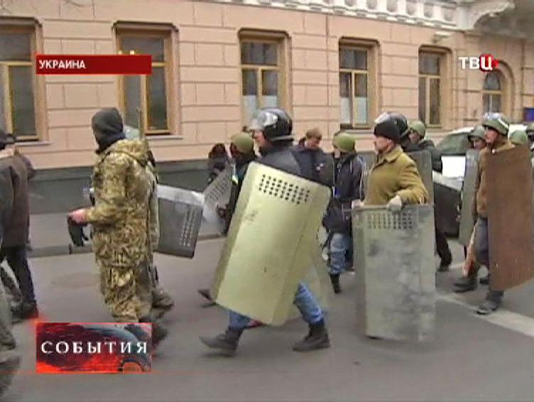 """Боевики """"Правого сектора"""" на Украине"""