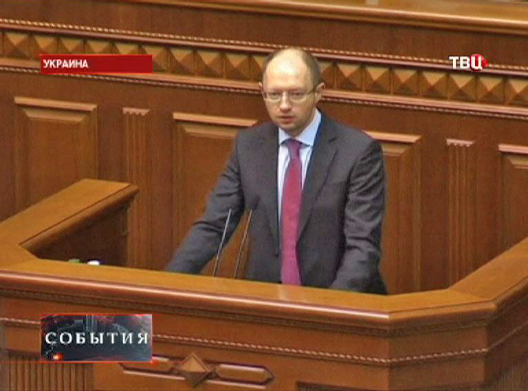 Арсений Яценюк, премьер-министр Украины