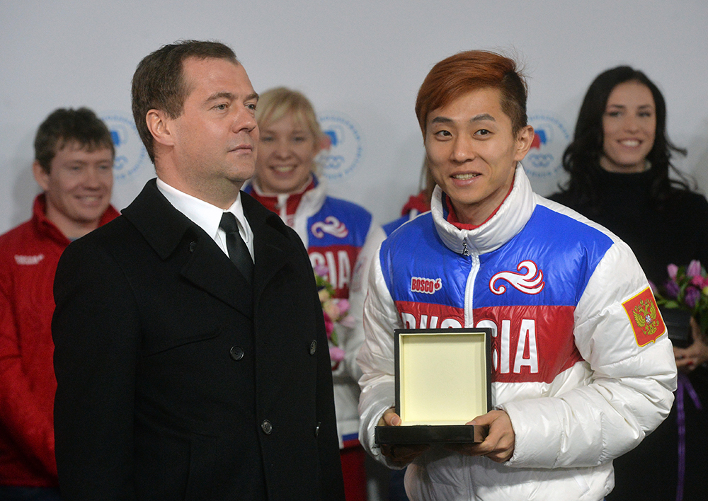 Подарки спортсменам за олимпиаду