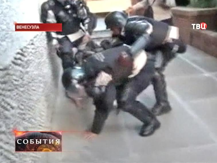 Беспорядки в Венесуэле