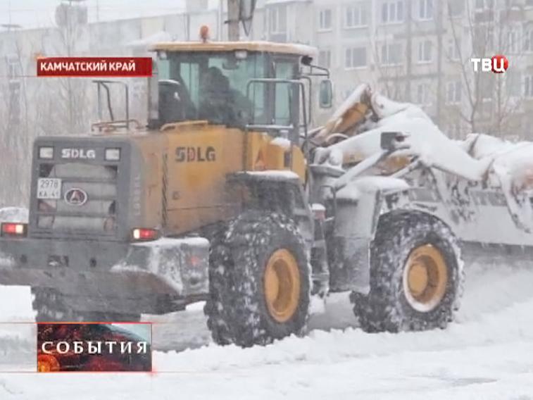 Снегоуборочная машина