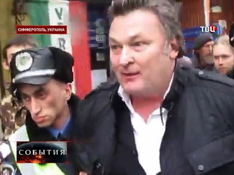 Задержание в Симферополе блоггера-провокатора Геннадия Балашова