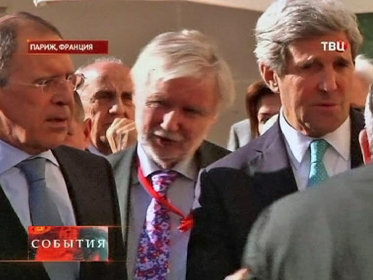 Встреча главы российского МИД Сергея Лаврова и госсекретаря США Джона Керри