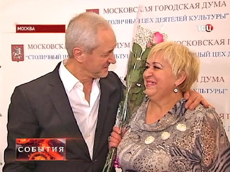 Народный артист России Евгений Герасимов с фанаткой