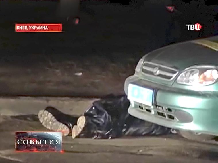 Нападение на сотрудников ДПС Украины