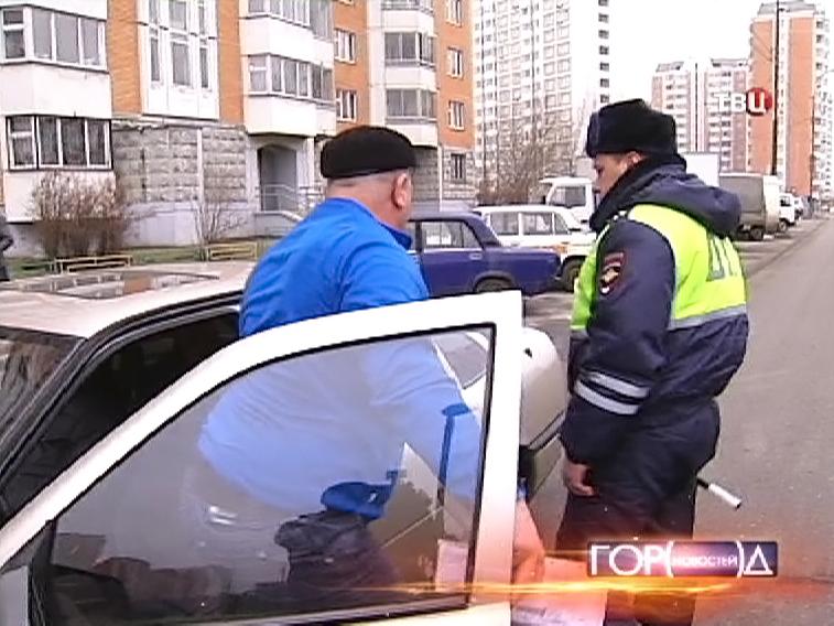 Рейд ДПС против нелегальных таксистов