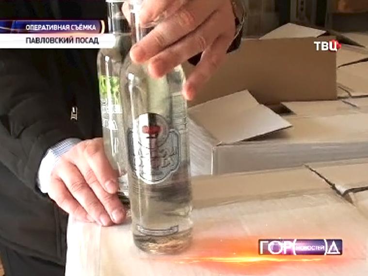 Завод по производству поддельной водки