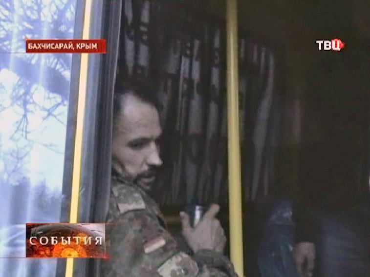 Народные дружинники Крыма задержали в Бахчисарае вооружённого радикала с Майдана