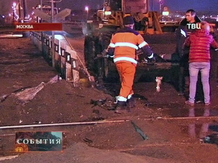 Устранение последствий ДТП на железной дороге