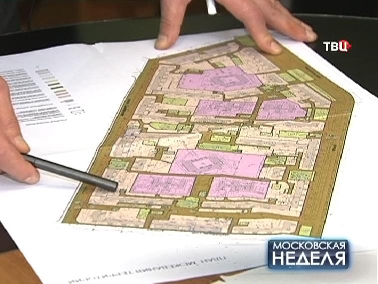 План разделения придомовой территории