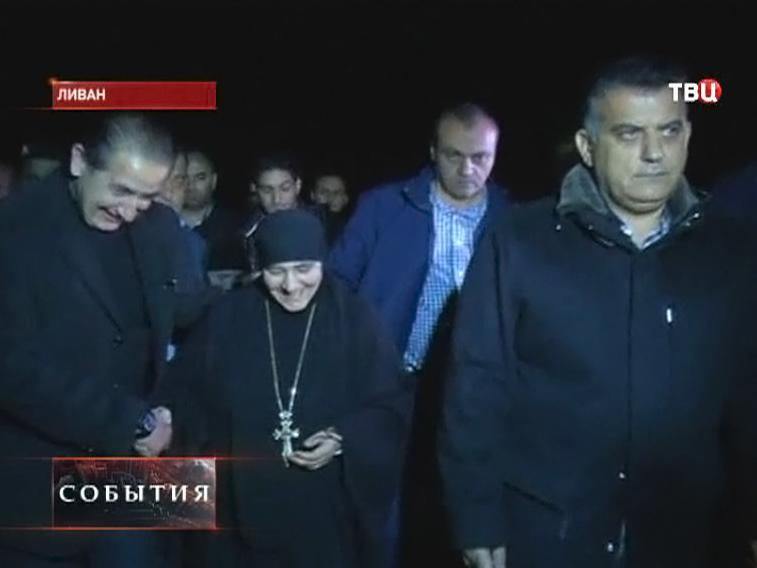 Христиане и мусульмане встречают монахинь в Ливане