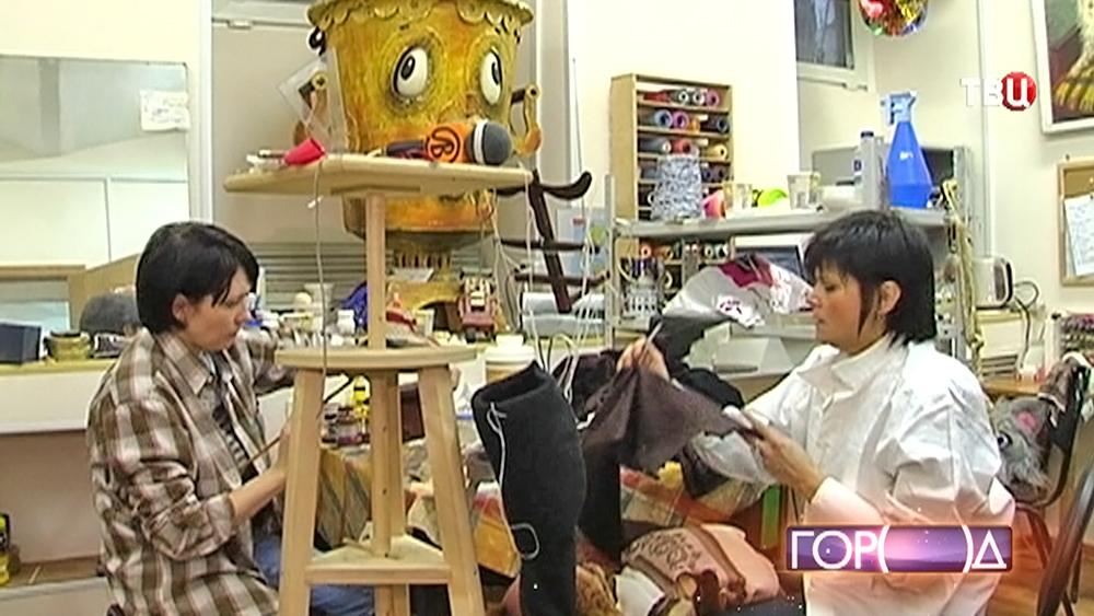 Мастера шьют кукол