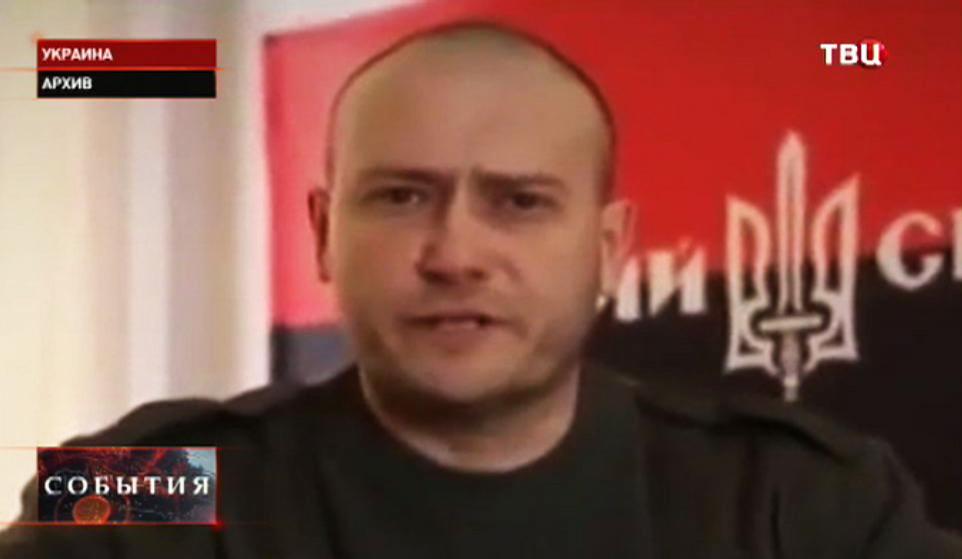 """Лидер """"Правого сектора"""" Украины Дмитрий Ярош"""