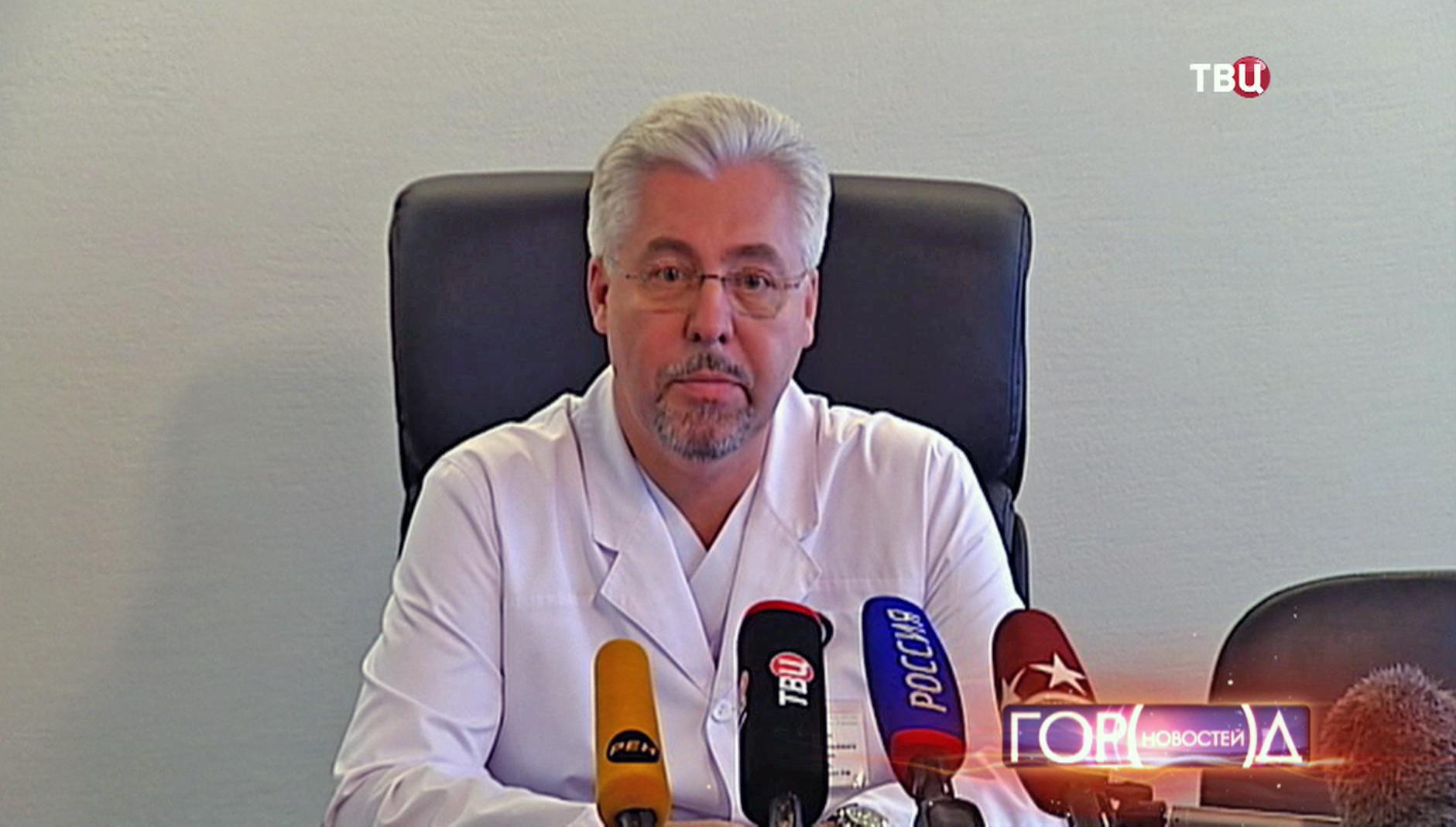 Главный врач ГКБ им. С.П. Боткина Алексей Шабунин