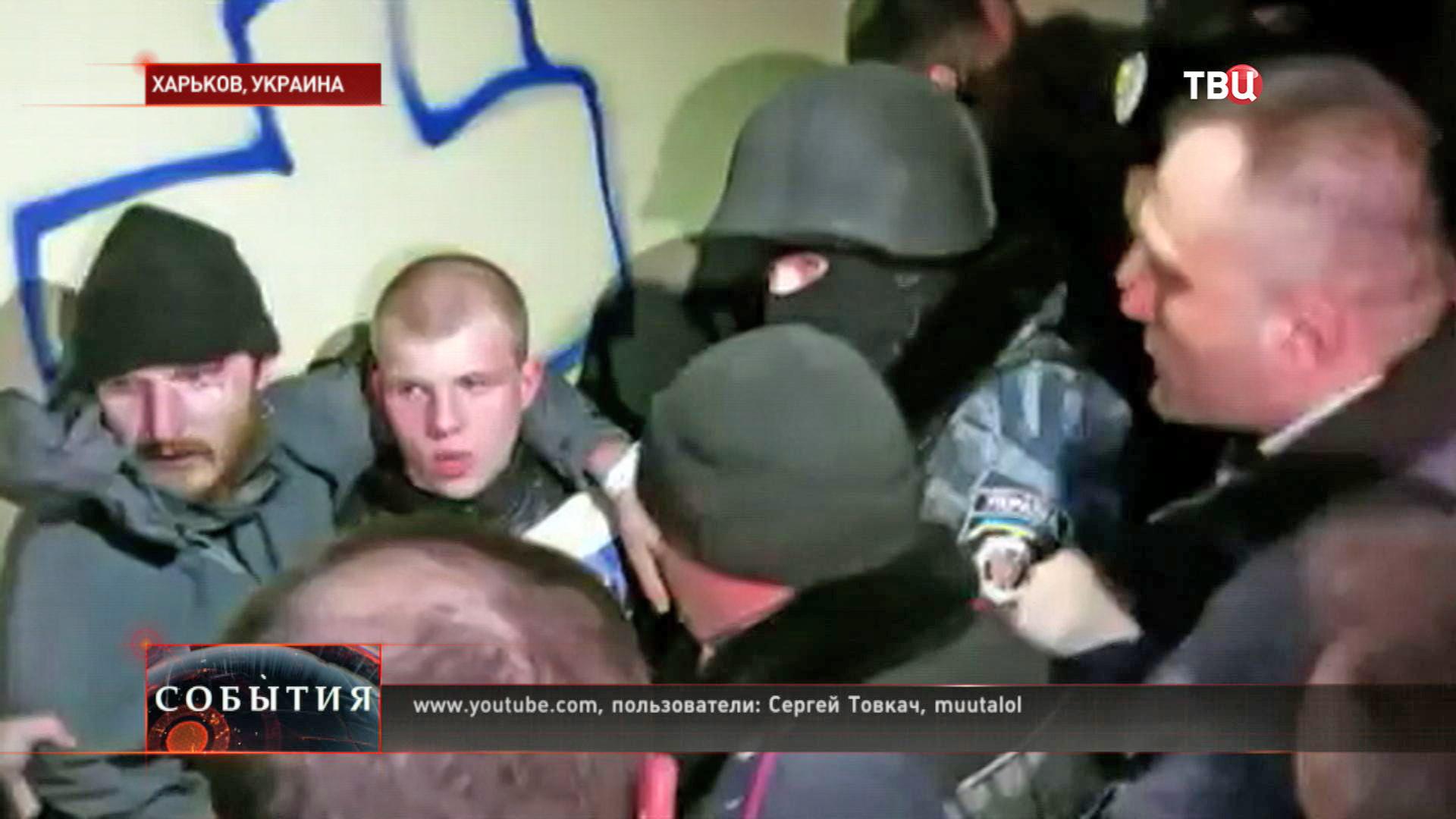 """Задержанные боевики """"Правого сектора"""""""