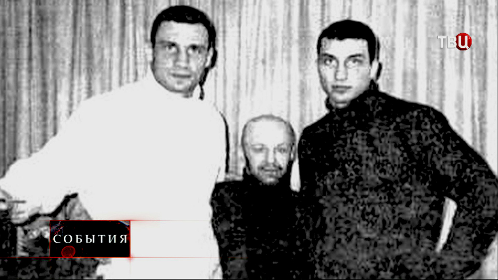Братья Кличко и криминальный авторитет Виталий Рыбалко