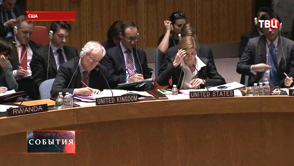 Посол США при ООН Саманта Пауэр