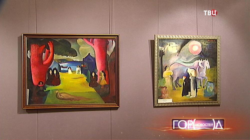 Картины в музее Востока