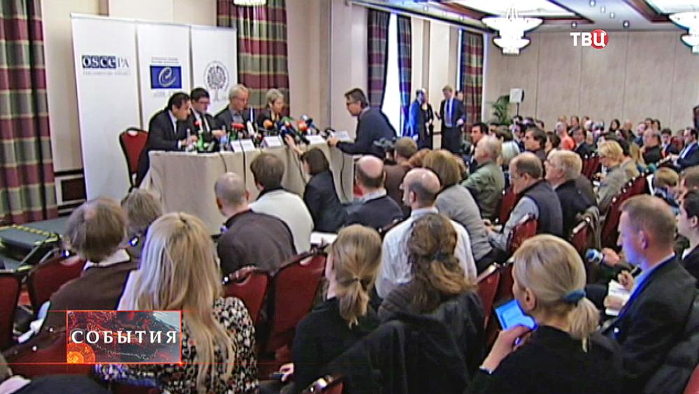 Заседание комиссии ОБСЕ