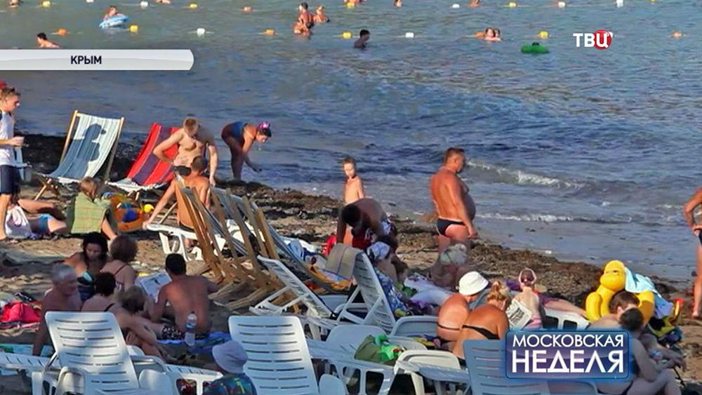 Пляж в Крыму