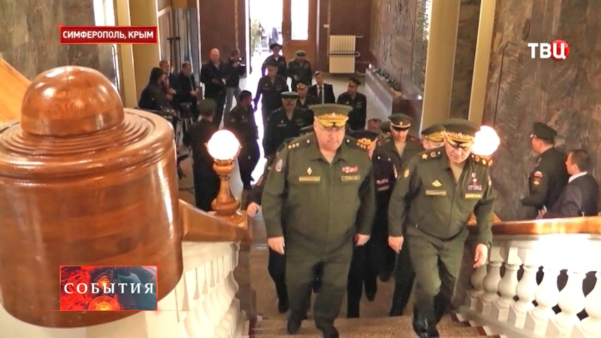 Министры обороны и внутренних дел