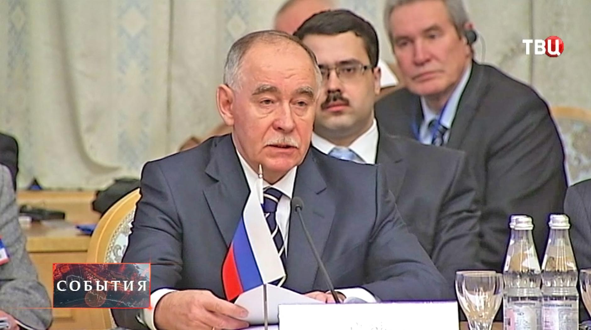 Виктор Иванов, директор Федеральной службы РФ