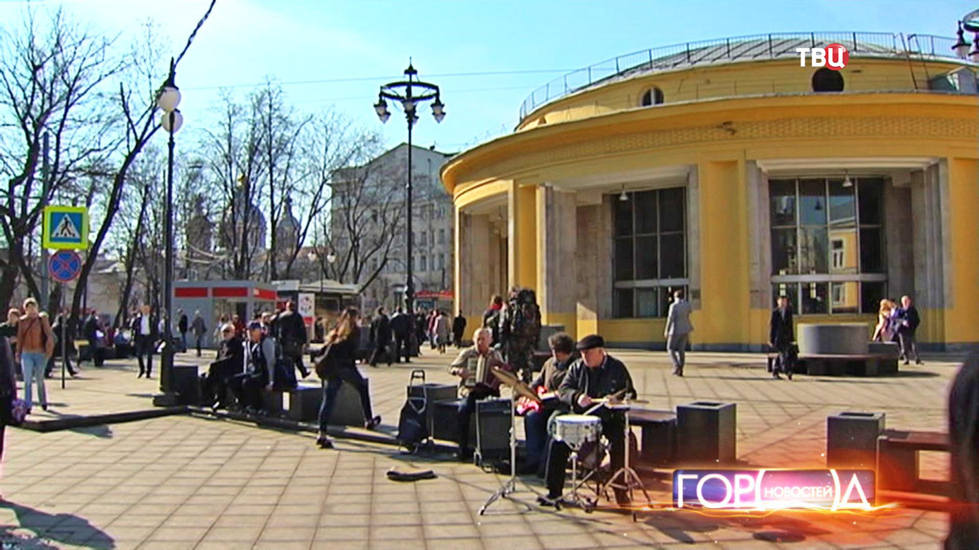 Солнечная погода в Москве