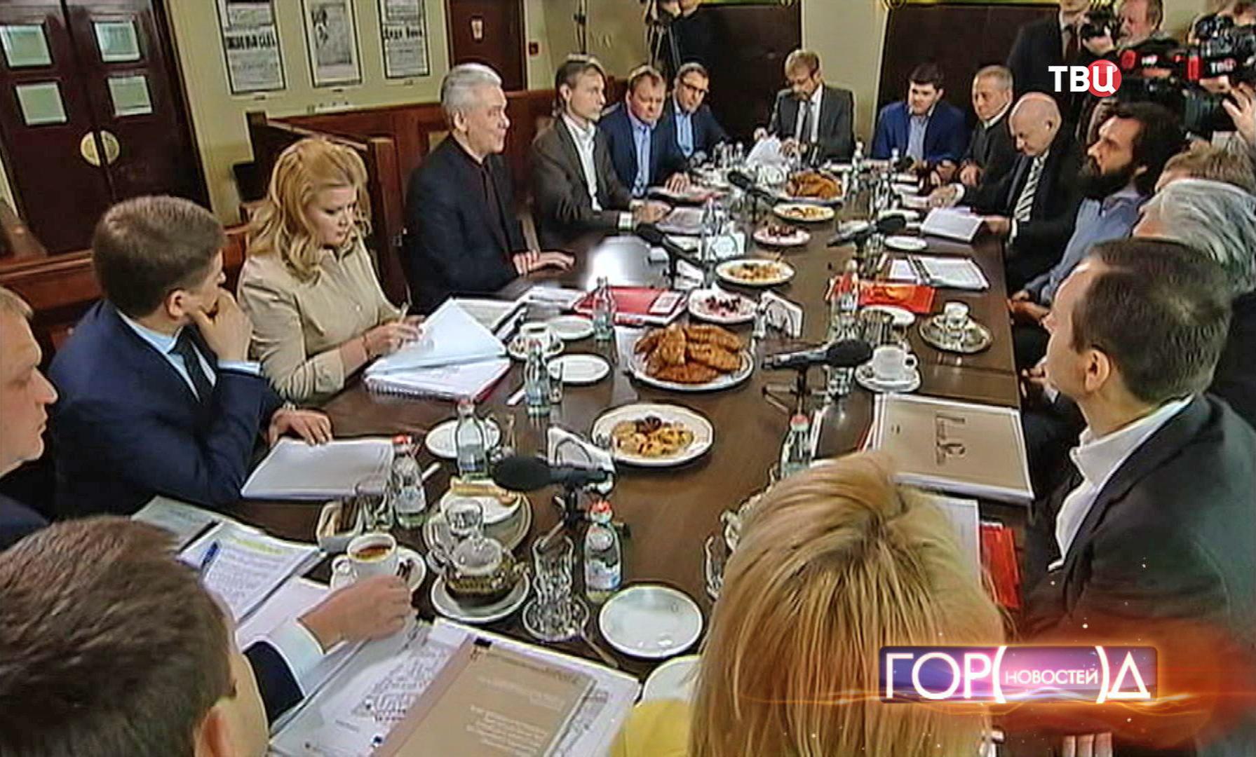 Сергей Собянин на встрече с рестораторами