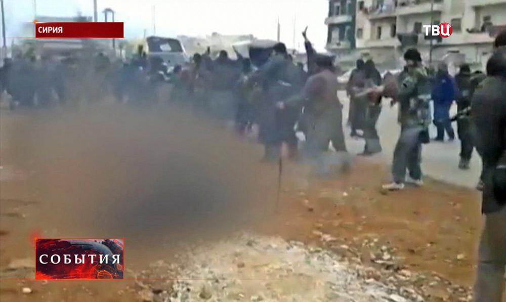 Сирийские боевики расстреляли армян города Кесаб
