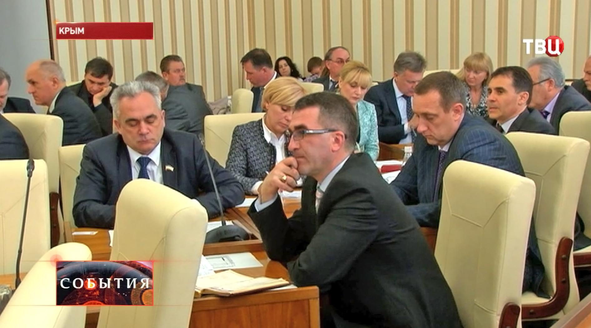 Совещанике с руководителями городов и районов Крыма