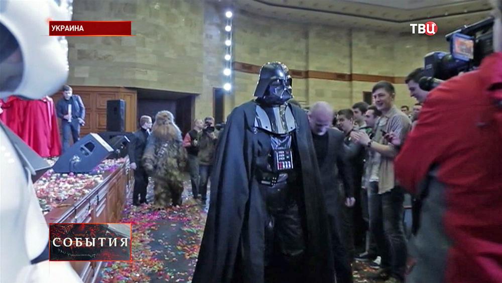 """""""Интернет-партия Украины"""" - Дарт Вейдер и его сторонники"""