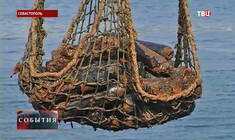 В Севастополе найдены снаряды времён Великой Отечественной войны