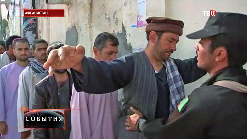 Усиление мер безопасности на выборах в Афганистане