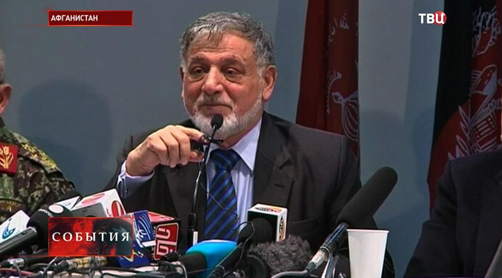 Председатель Независимой избирательной комиссии Махаммад Йосуф Нуристани