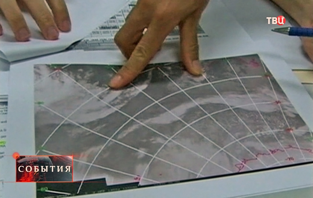 Поиски пропавшего малайзийского Boeing 777