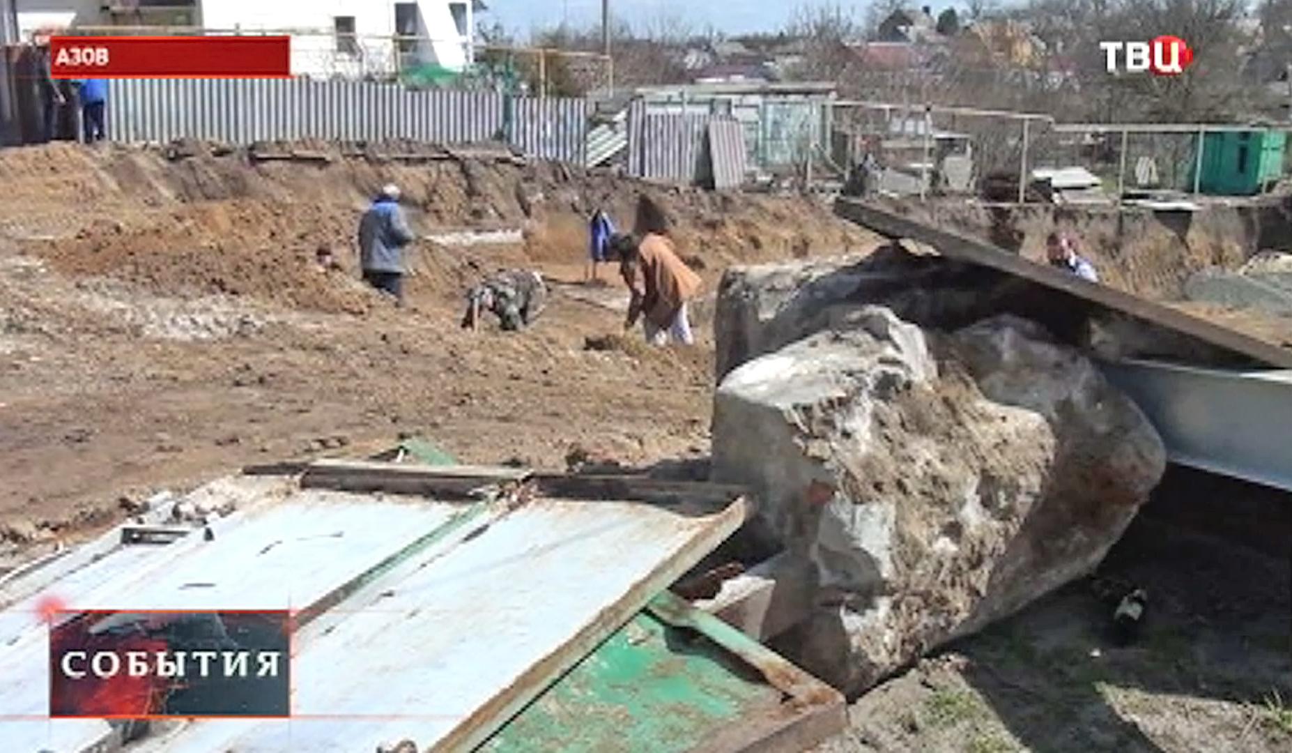 Археологи ищут артефакты