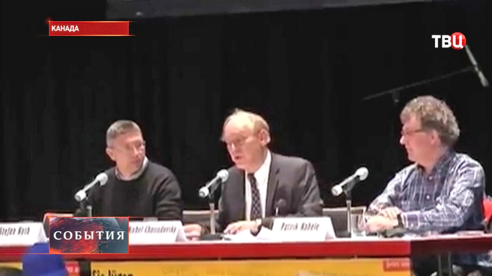 Директор канадского Центра исследования глобализации Мишель Чоссудовский