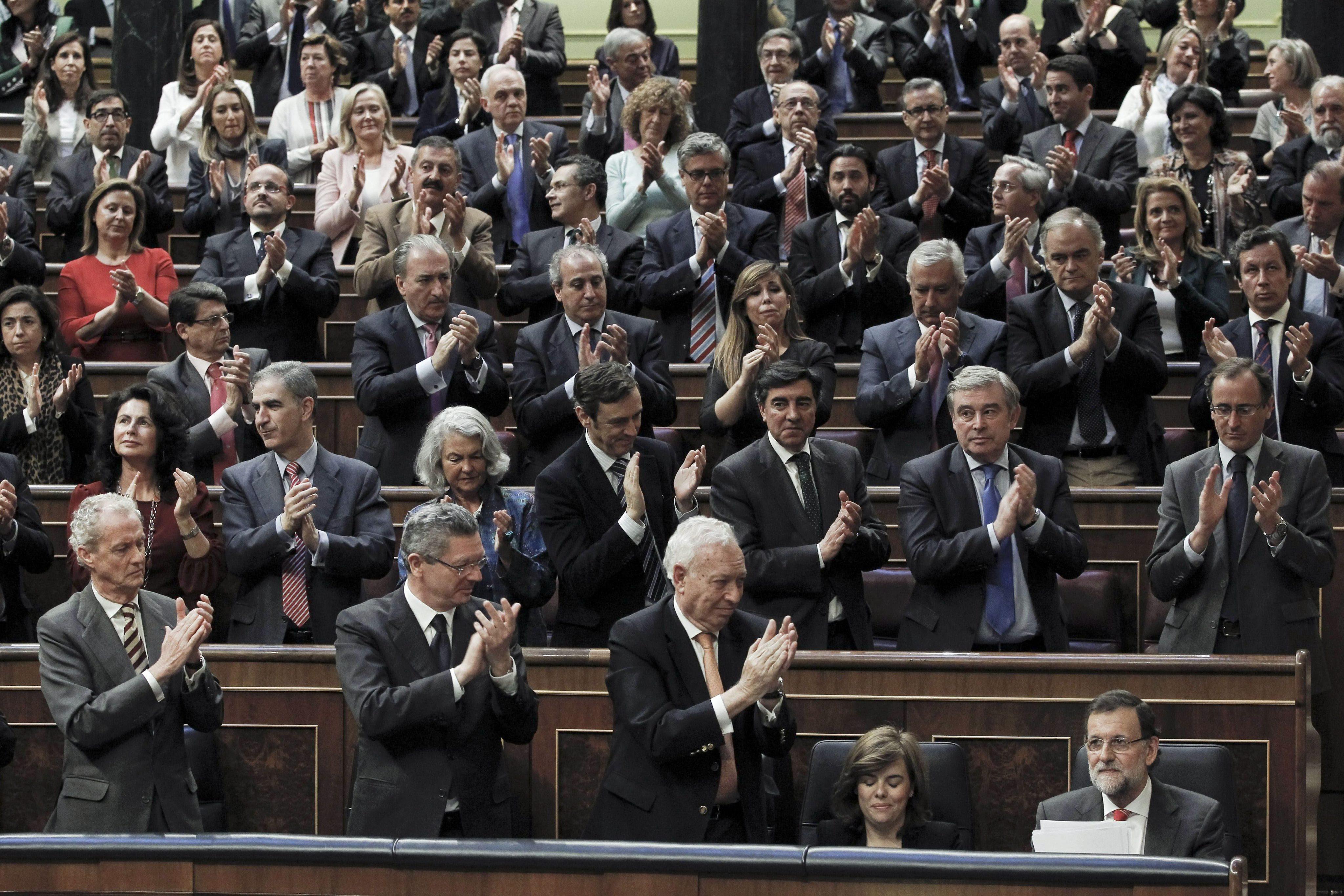 Во время пленарной сессии в парламенте по проекту референдума в Каталонии