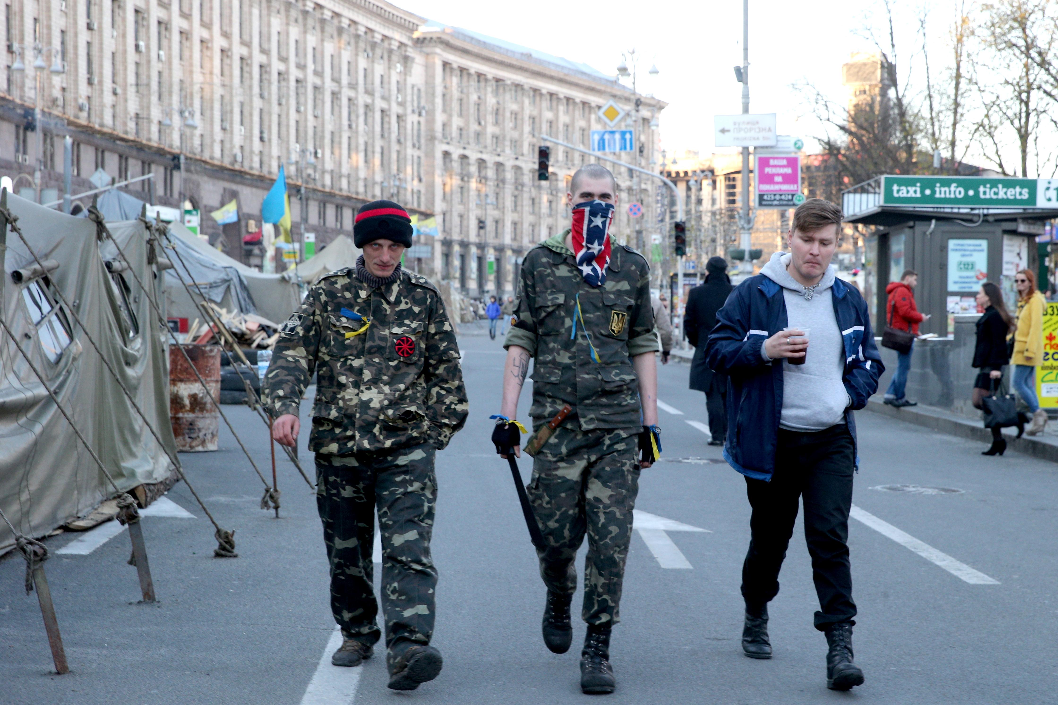 Радикалы на площади Независимости