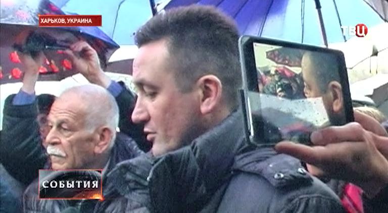 Старший преподаватель Харьковского университета внутренних дел Андрей Чуйков